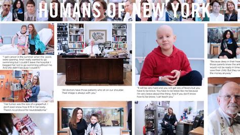 Humans Of New York Stories humans of new york stories from memorial sloan kettering
