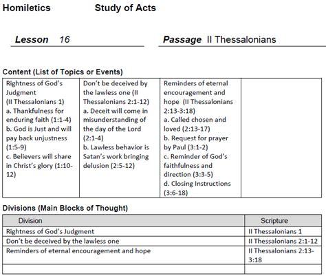 Bsf Homiletics Worksheet