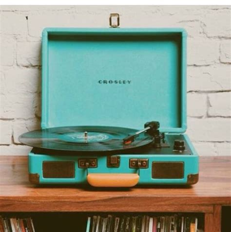 Buy Kitchen Furniture home accessory blue tumblr music record player