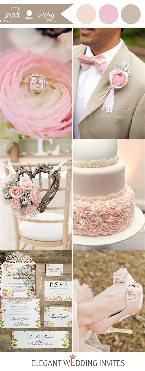 color combination with pink 48 pink wedding color combination ideas