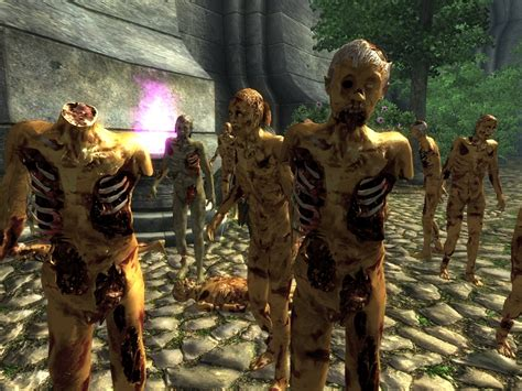mod game zombie diverse zombies resource at oblivion nexus mods and