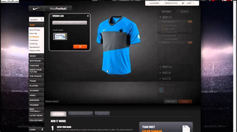 jersey design maker software how to make good football kits with nike id youtube