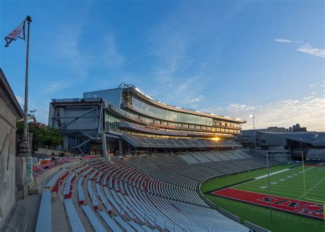 cincinnati school of architecture and interior design aro and heery design nippert stadium expansion for