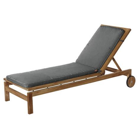 Sun Lounge Chair Design Ideas Mojo Grey Sunlounge Cushion Bunnings Warehouse