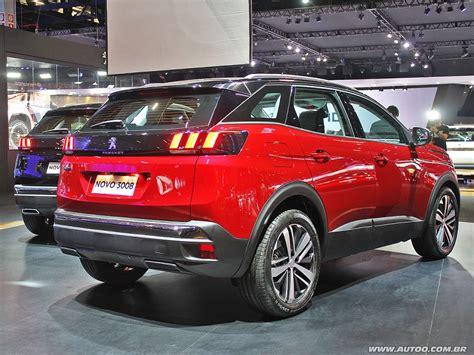 peugeot 3008 2017 black novo peugeot 3008 tem interior cativante autoo