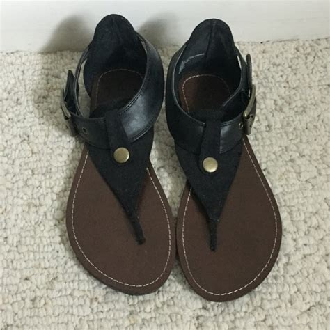 mossimo black sandals 40 mossimo supply co shoes black sandals from