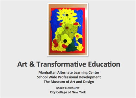 art design qualifications art transformative education museum of art design