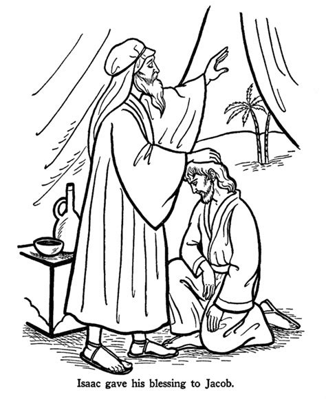 coloring page jacob and esau jacob and esau coloring pages free printable coloring
