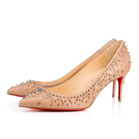 Shoes Christian Louboutin Luxury Gold Po20 escarpic 70 gold leather shoes christian louboutin