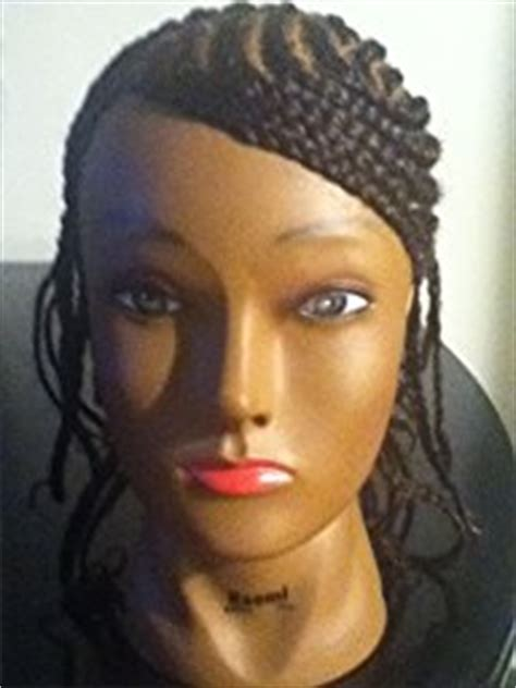 mannequin head to practice braiding in st louis amazon com budget naomi afro manikin 20 quot brown by