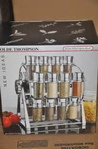 Olde Thompson 20 Jar Ferris Wheel Spice Rack by Azie Branded Uk Store