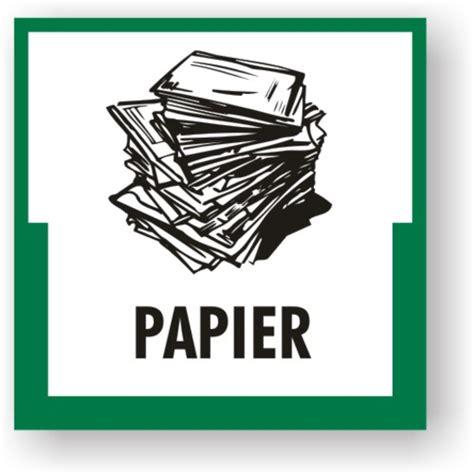Aufkleber Papier umweltkennzeichen quot papier quot brewes