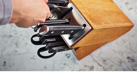 self sharpening kitchen knives self sharpening knife sets calphalonusastore
