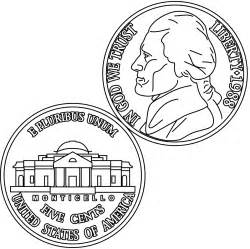 coin coloring pages clip dime coloring page abcteach