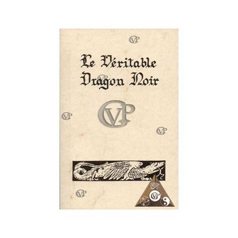 Le Veritable Dragon Noir Pdf