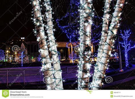 real christmas tree grand rapids mi grand rapids michigan skyline in the winter royalty free stock image cartoondealer 49056088