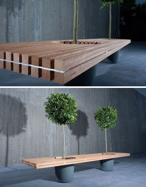 wooden bench with planters wooden bench planter built to bring two people together