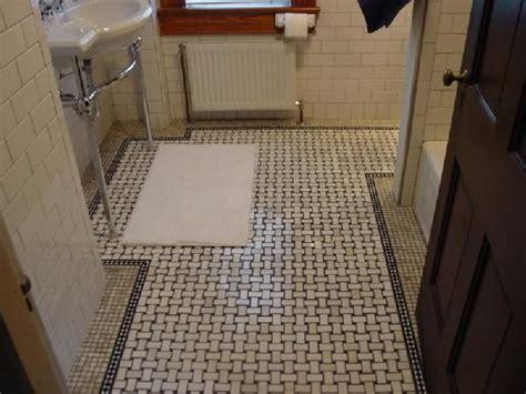 marble basketweave tile bathroom basket weave tile floor restorations pinterest