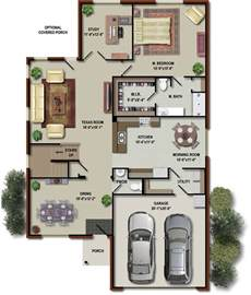 Floor Plans Of A House by Floor Plans