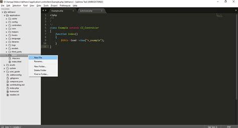 tutorial bootstrap codeigniter tutorial codeigniter instalasi bootstrap pada
