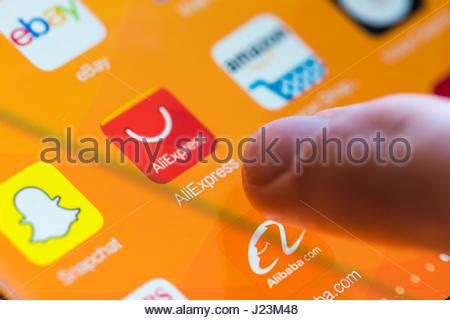 alibaba zurich online shopping application on mobile phone screen with