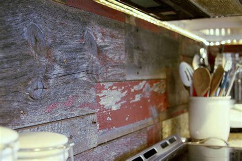 reclaimed wood backsplash 13 removable kitchen backsplash ideas