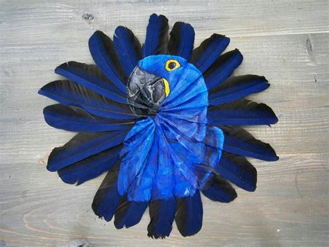 acrylic painting bird feathers animals painted on delicate feather canvases by