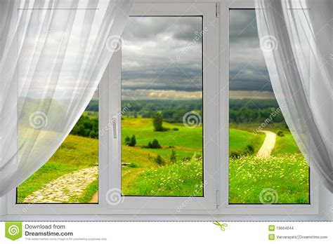 beautiful window a beautiful view from the window stock photo image 19664644