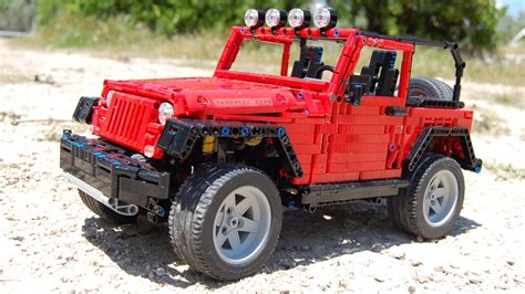 lego jeep lego jeep wrangler rubicon jk by sheepo