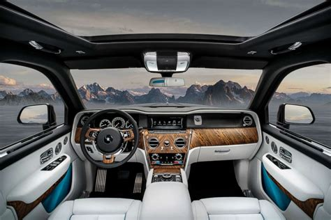 roll royce suv interior rolls royce brings bling to the suv with its 325k
