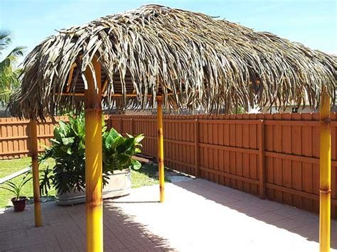 Thatch For Tiki Hut palmex 174 aloha style artificial synthetic palapa thatch roofing