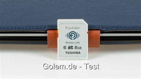 Toshiba Flashair Wifi Sd Card Eye Fi Sd R008gr7w6 Class 6 8gb toshiba flashair sd card with wi fi review golem de