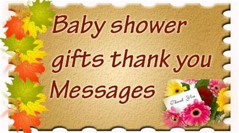 Baby Shower Thank You For Host by Baby Shower Gifts Thank You Messages