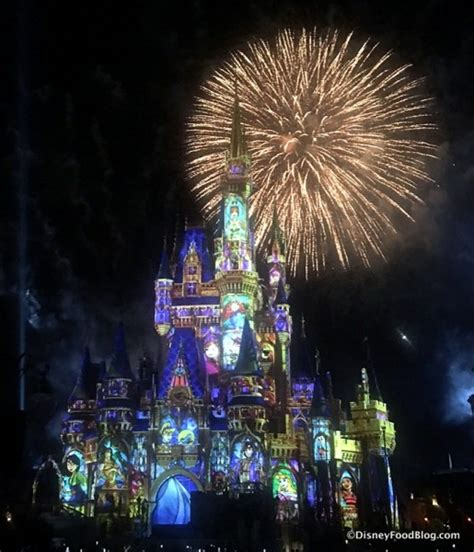 10 of fireworks shows at disney s theme parks look and disney s new happily after