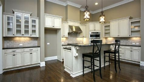 vintage gray kitchen cabinets quicua com enchanting antique white glazed kitchen cabinets pictures