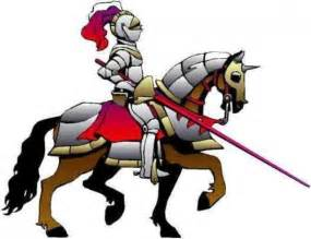Medieval knight cartoon medieval ages knights vector cliparts