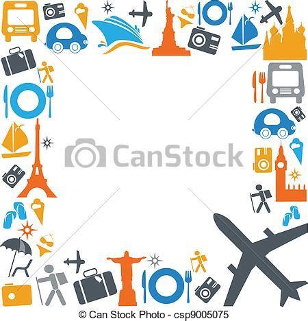 clipart viaggi clipart vettoriali di trasporto viaggiare colorito