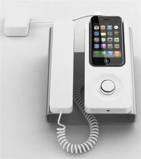desk phone dock for the iphone