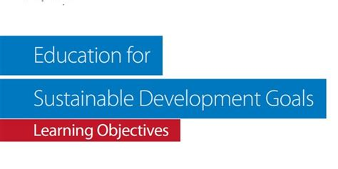 themes of education for sustainable development sustainable development goals sdgs united download