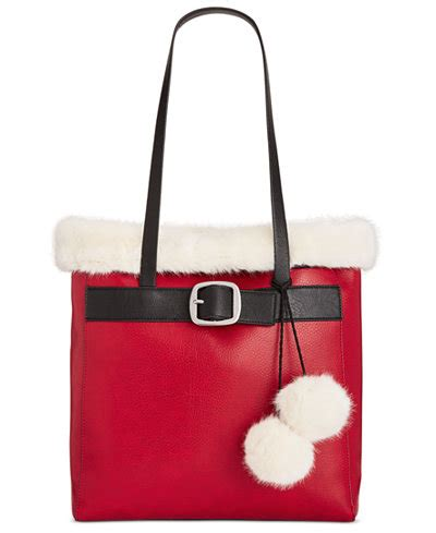 New Motif Michael Kors Specchio Shopping Tote 4in1 whimsical shop santa tote only at macy s handbags accessories macy s