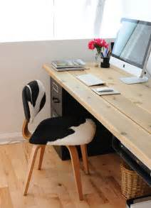 Diy File Cabinet Desk Workin It 15 Diy Desks You Can Build Brit Co