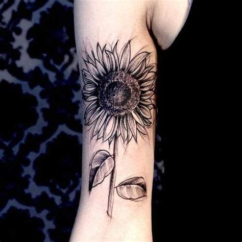 preparing for tattoo sunflower tattoos for ideas and designs with