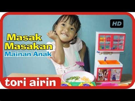 Mainan Anak Chef 2396 mainan anak perempuan masak masakan indonesia lucu chef airin