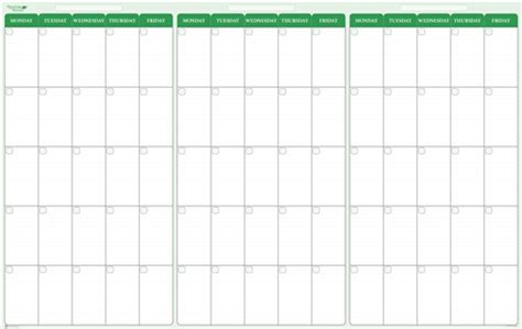 90 Day Calendar 90 Day 3 Month Erase Calendar 24 X 38