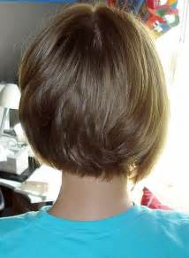 rear veiw of flicky hairsyles short bob hairstyles rear view my hairstyles site