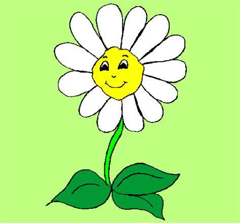 margherita fiore disegno disegno fiore felice colorato da utente non registrato il