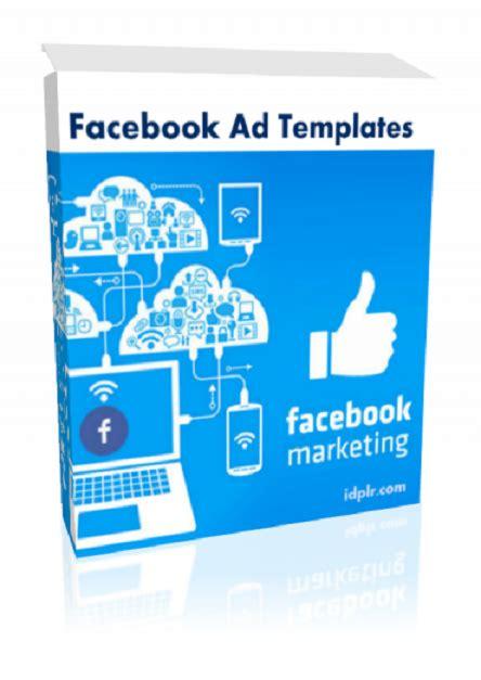 advertising templates for facebook facebook ad templates