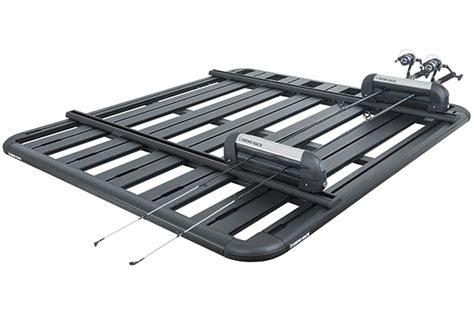 Roof Rack Platform by 2010 Jeep Wrangler 4 Door Hardtop Rhino Rack Backbone