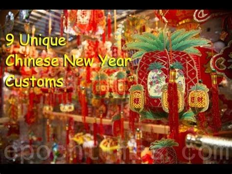 9 chinese new year customs that may surprise you youtube