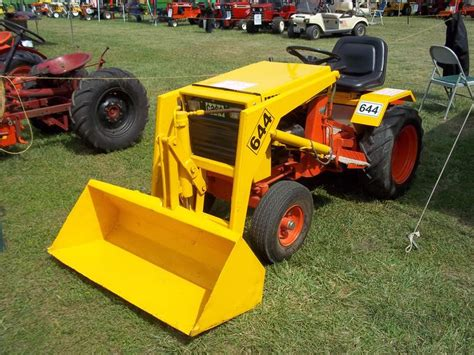 Garden Tractor With Loader by 1970s 644 Garden Loader Tractor Machines